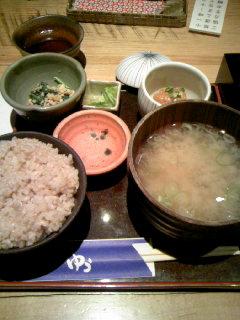 松花堂弁当(ご飯)