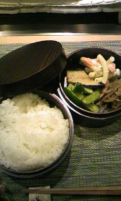 ご飯と副菜